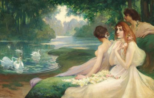 Les Muses - Au bord de l'eau