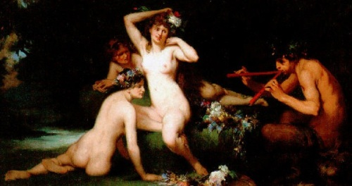 Nymphes And Faune