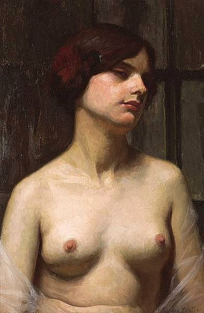 Pensive Female Nude
