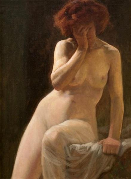 Sara, A Nude