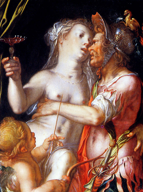 Aphrodite And Eros Sun