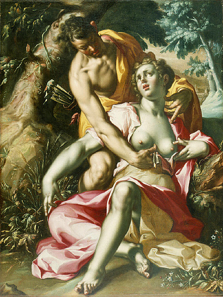 Cephalus And Procris - The Death Of Procris