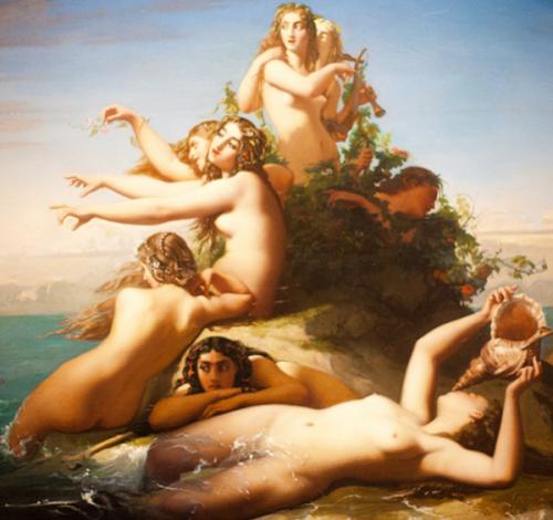 Les Sirenes appelant Ulysse
