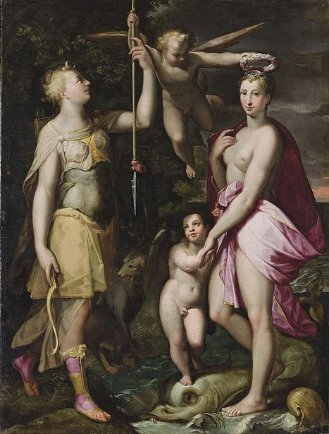 The Apotheosis Of Venus And Diana