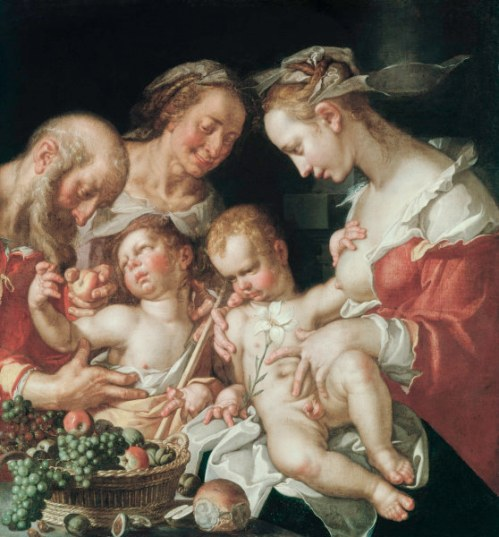 The Holy Family With John