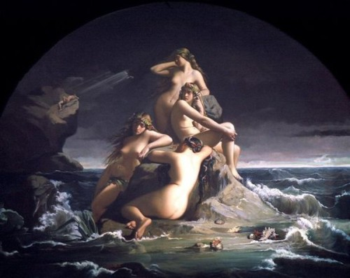 The Sea Nymphs Mourn The Death Of Prometheus