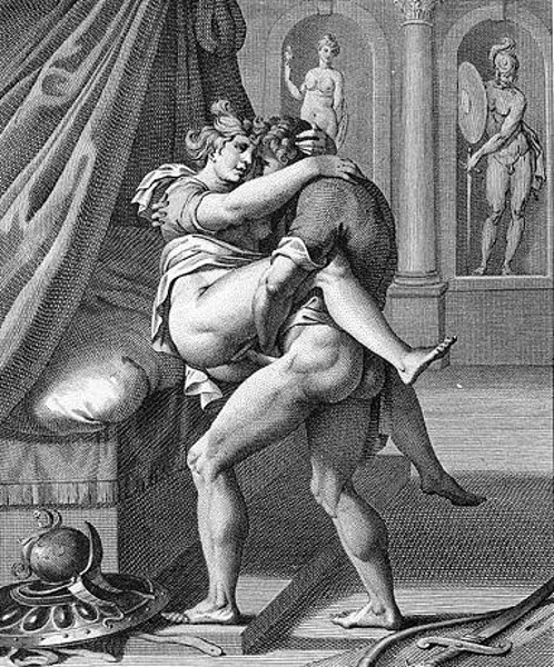 Achilles And Briseis