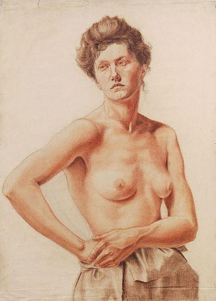 Female, Three-Quarter Nude