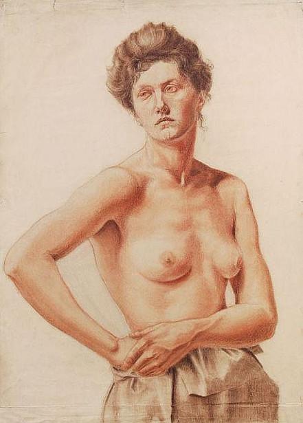 Female, Three-Quarter Nude