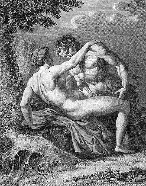 The Satyr And The Nymph