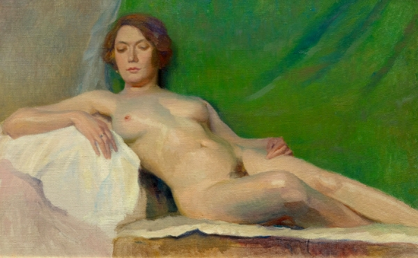 Are reclining female nude painting Quite right!