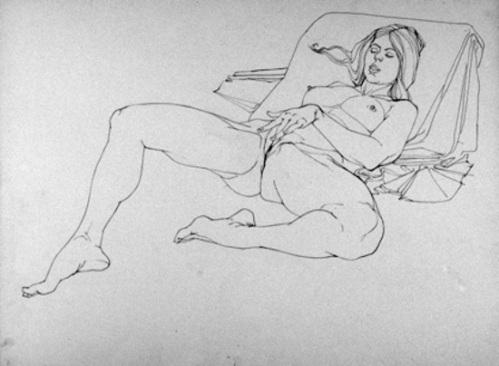 рисунки карандашом мастурбация фото обнаженных